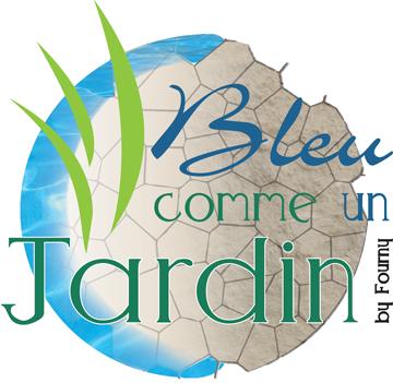 Bleu Comme un Jardin Fourny Piscines Jardins Lucciana Retina Logo